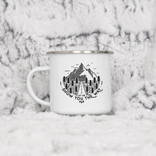 Load image into Gallery viewer, Let me show you the way - Enamel Mug - Sovende Bjorn