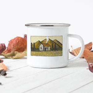 Mountain Bothy - Enamel Mug