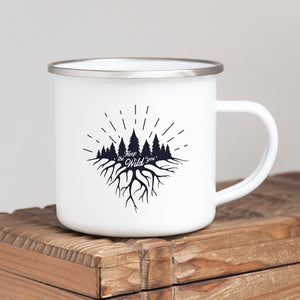 Keep the Wild in You - Enamel Mug - Sovende Bjorn