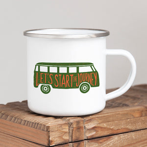 Let's start a journey - Enamel Mug