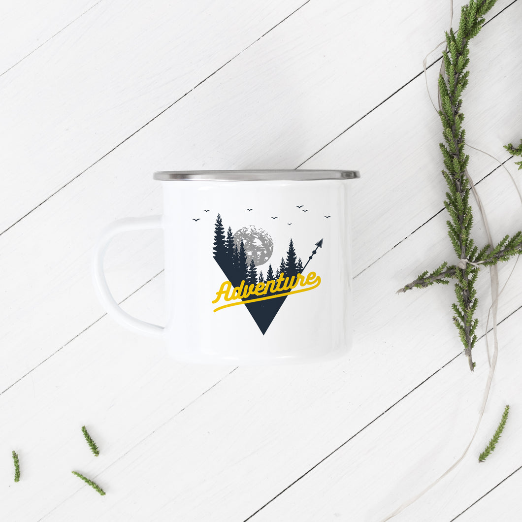 Adventure - Enamel Mug