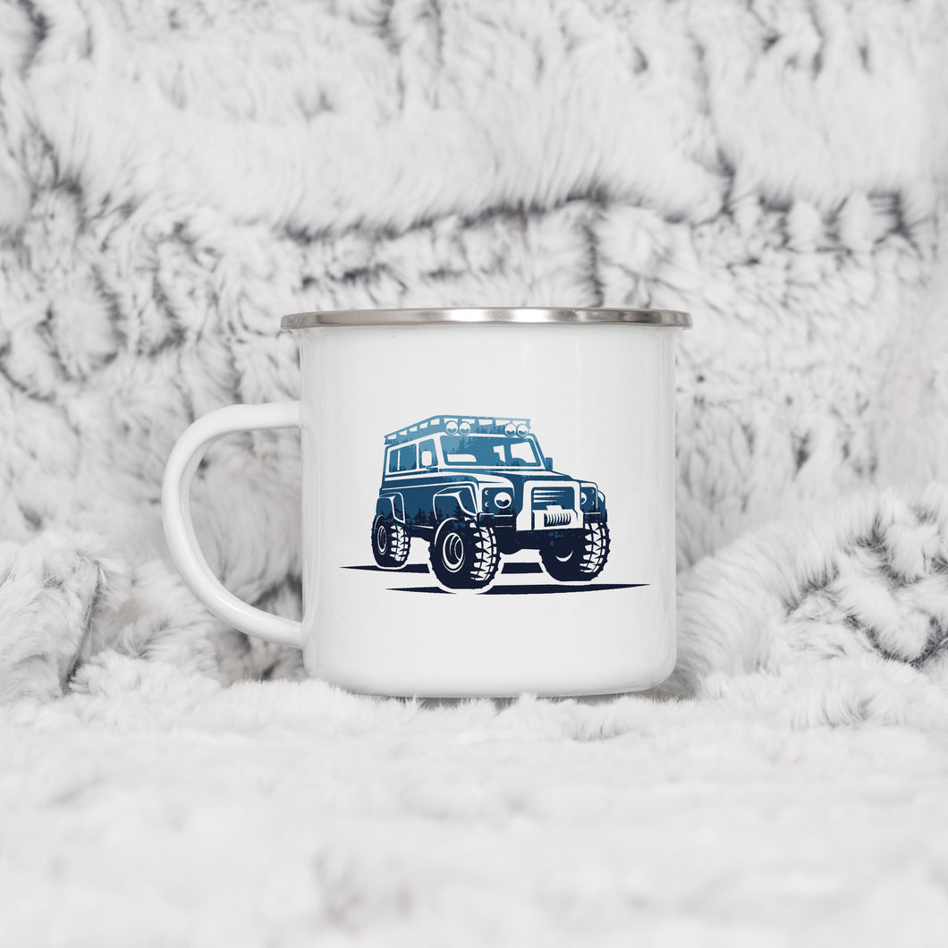4x4 Adventure - Enamel Mug