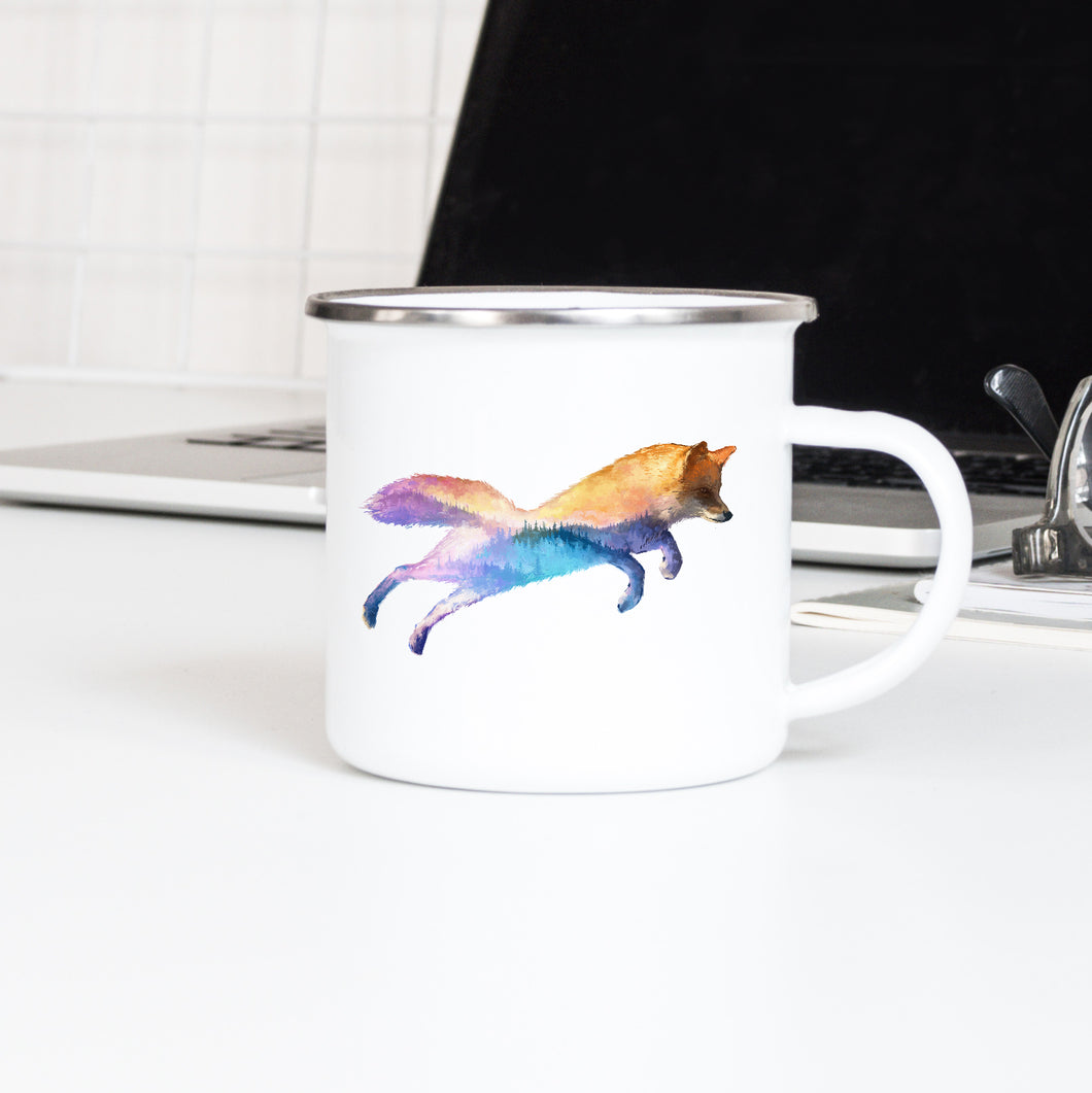 Mountain Fox - Enamel Mug