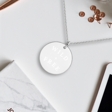 Load image into Gallery viewer, Wild + Free Pendant Necklace - Sovende Bjorn