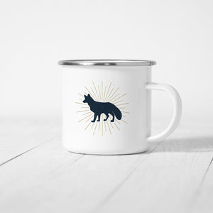 Fox - Enamel Mug