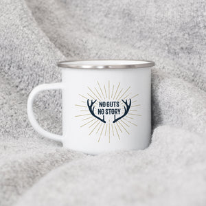 No Guts No Glory - Enamel Mug