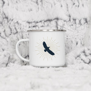 Eagle Flying - Enamel Mug