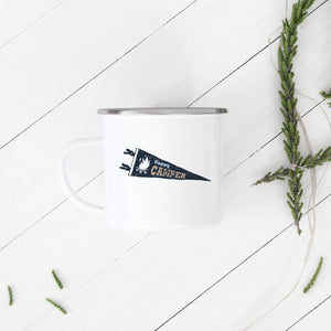 Happy Camper - Enamel Mug