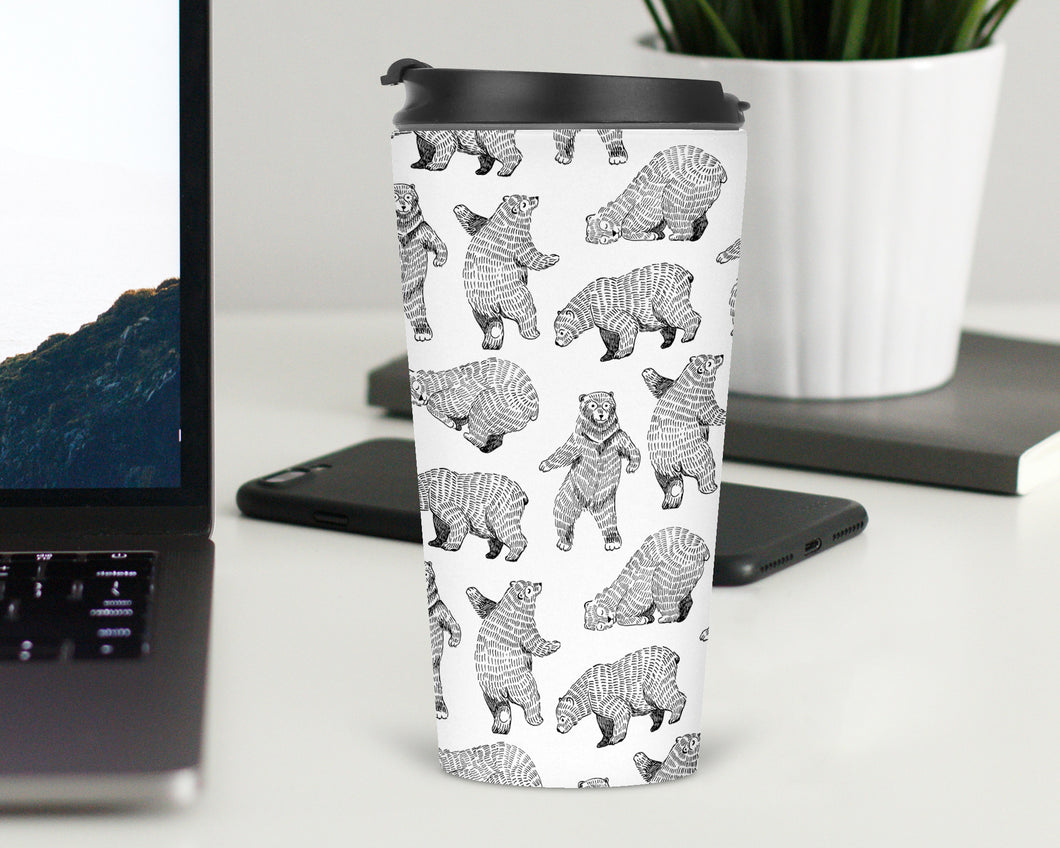 Dancing Bears Travel Tumbler - Sovende Bjorn
