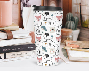 Woodland Pals Travel Tumbler - Sovende Bjorn
