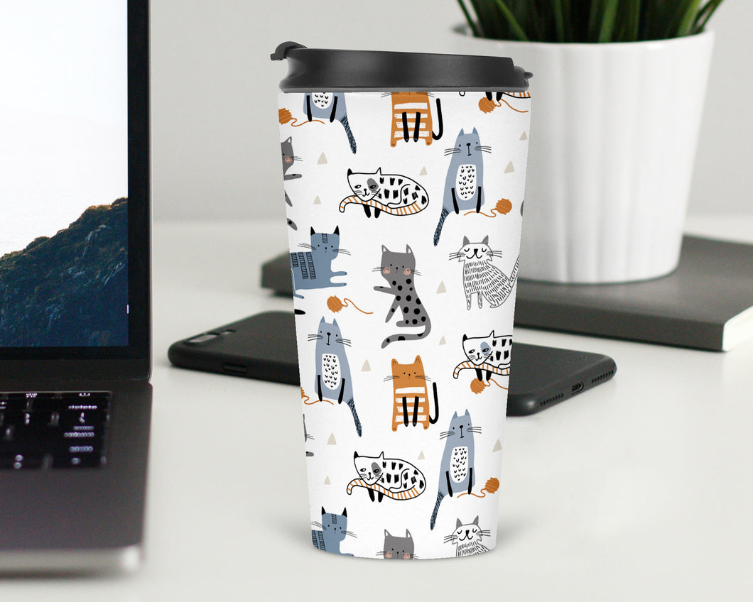 Cats Cats Cats Travel Tumbler - Sovende Bjorn