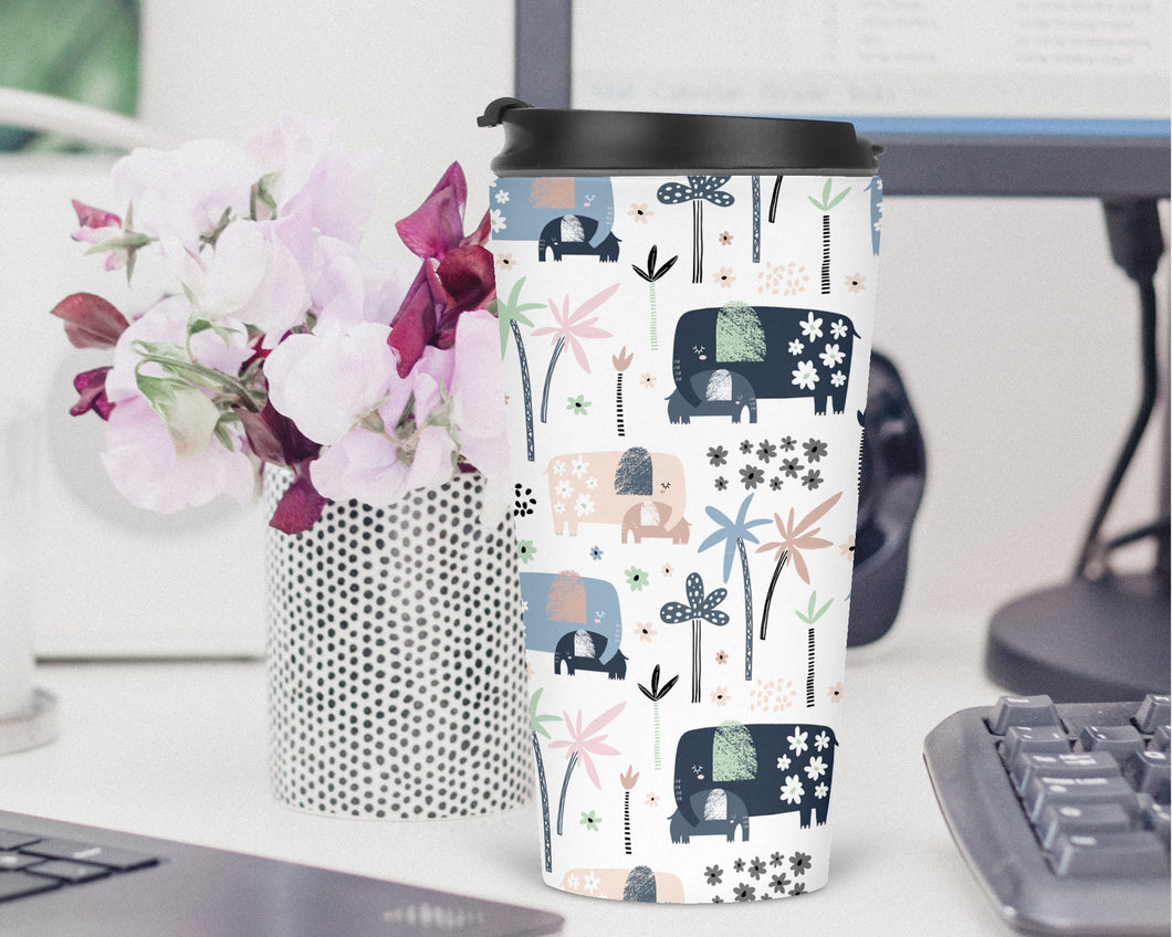 Elephants Travel Tumbler - Sovende Bjorn