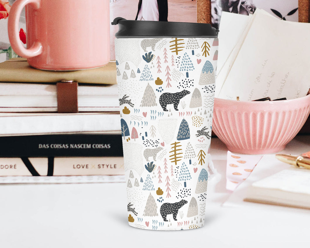 Bears in the Woods Travel Tumbler - Sovende Bjorn