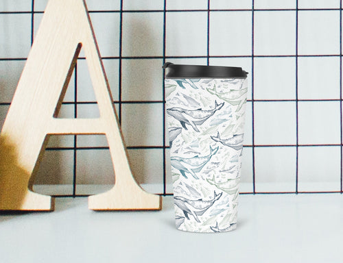 All the Whales Travel Tumbler - Sovende Bjorn