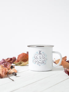 Born to be a Mermaid - Enamel Mug - Sovende Bjorn