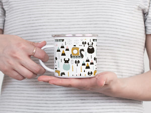 The Vikings are coming - Enamel Mug