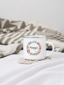 Personalised Autumnal Mug