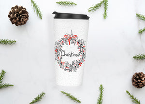 Personalised Christmas Travel Tumbler