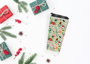 Wreaths - Christmas Travel Tumbler