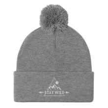 Load image into Gallery viewer, Stay Wild - Pom Pom Beanie - Sovende Bjorn