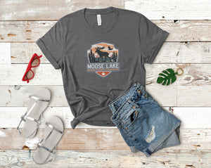 Moose Lake Soft Casual Tee - Sovende Bjorn