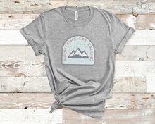 Load image into Gallery viewer, Mountains Are Calling Soft Casual Tee - Sovende Bjorn