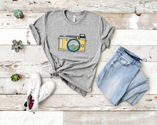 Load image into Gallery viewer, Campsite Camera Soft Casual Tee - Sovende Bjorn