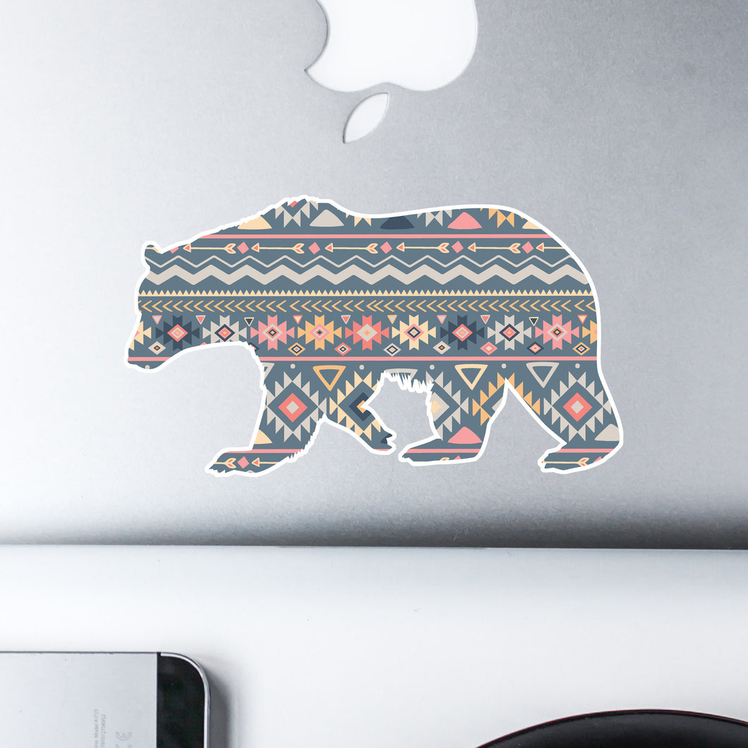 Bruno the Bear Sticker - Sovende Bjorn