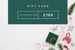 Christmas Gift Card, available in £10, £25, £50 & £100.
