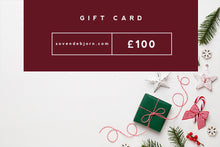 Load image into Gallery viewer, Christmas Gift Card, available in £10, £25, £50 & £100.