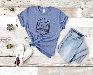 Forest Soft Casual Tee - Sovende Bjorn