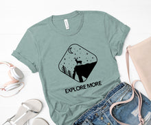 Load image into Gallery viewer, Explore More Soft Casual Tee - Sovende Bjorn