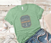 Load image into Gallery viewer, And So The Adventure Begins Soft Casual Tee - Sovende Bjorn