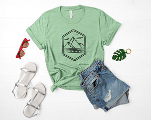 Mountain Soft Casual Tee - Sovende Bjorn