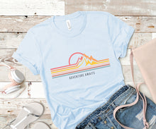 Load image into Gallery viewer, Adventure Awaits Soft Casual Tee - Sovende Bjorn