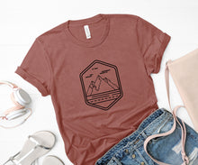 Load image into Gallery viewer, Mountains Soft Casual Tee - Sovende Bjorn