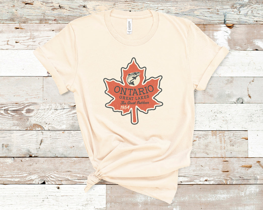 Ontario Soft Casual Tee - Sovende Bjorn