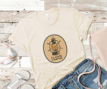 Load image into Gallery viewer, I Love Camping Soft Casual Tee - Sovende Bjorn