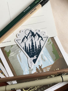 Mountains & Rivers Sticker