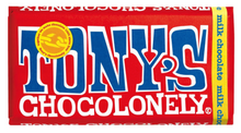 Load image into Gallery viewer, Tony's Chocolonely - Milk Chocolate Bar 180g
