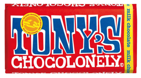 Tony's Chocolonely - Milk Chocolate Bar 180g