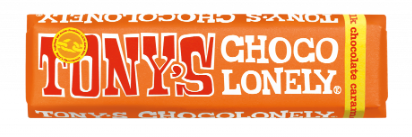 Tony's Chocolonely - Salted Caramel 50g Bar