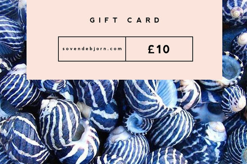 Physical Gift Card - Sovende Bjorn