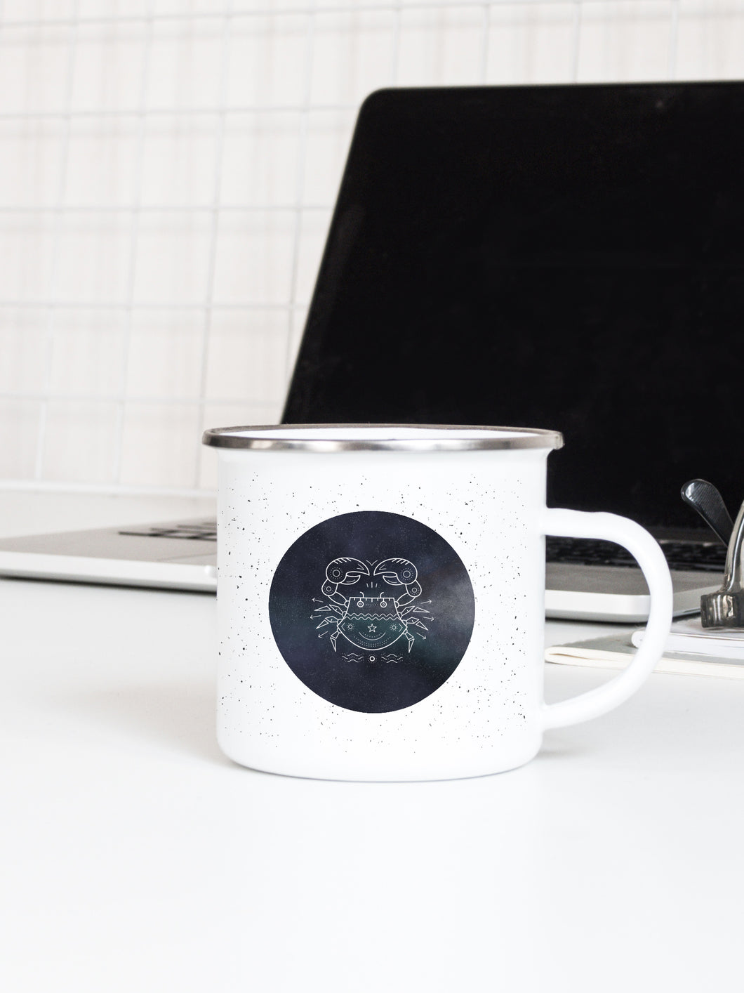 Cancer, Written in the Stars - Enamel Mug