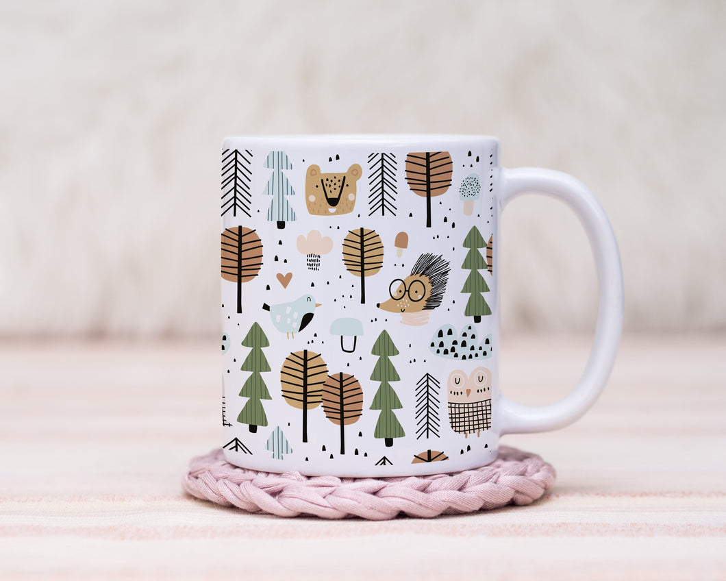 Hedgehog Pals - Ceramic Children's Mug