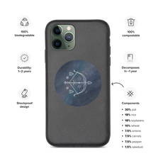 Load image into Gallery viewer, Written in The Stars Biodegradeable iPhone Cover