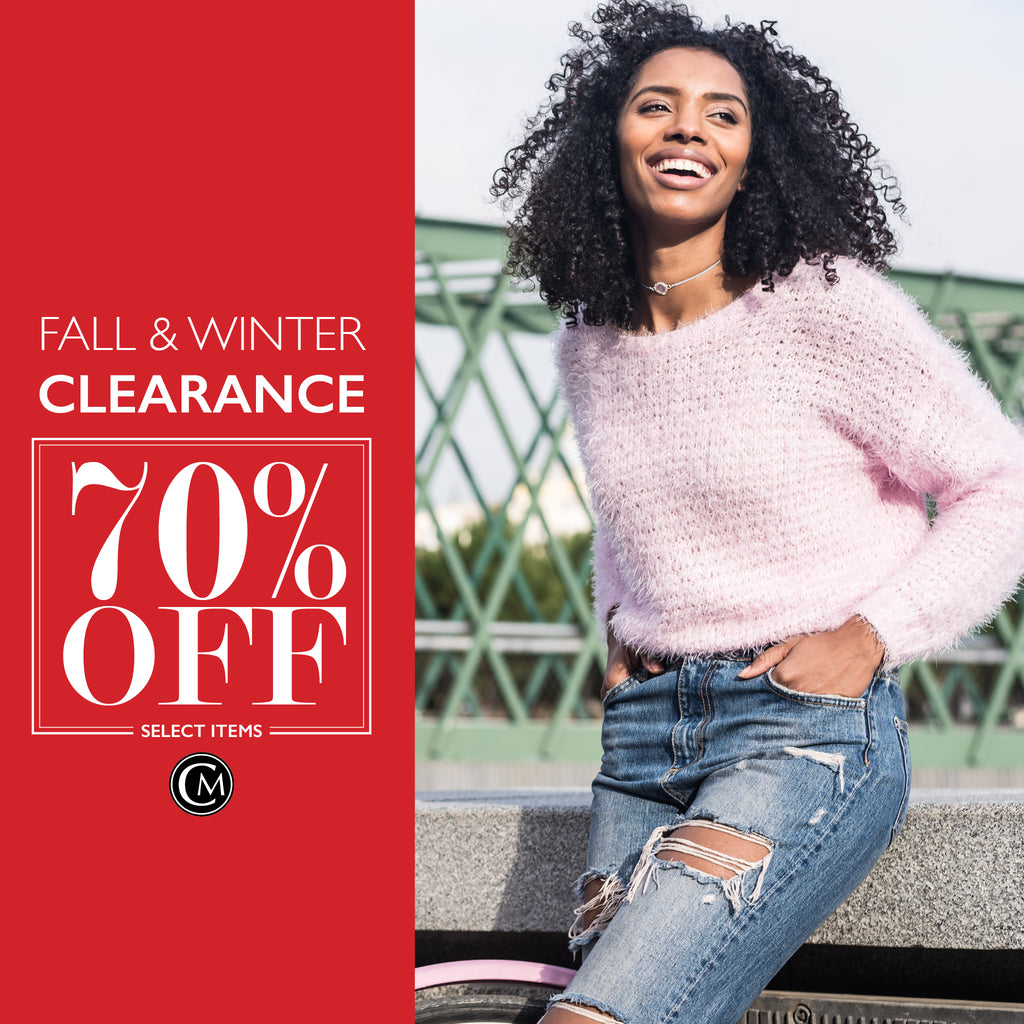 70% off Marked Winter Clearance