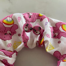 Load image into Gallery viewer, CareBear Scrunchie and Earring Set