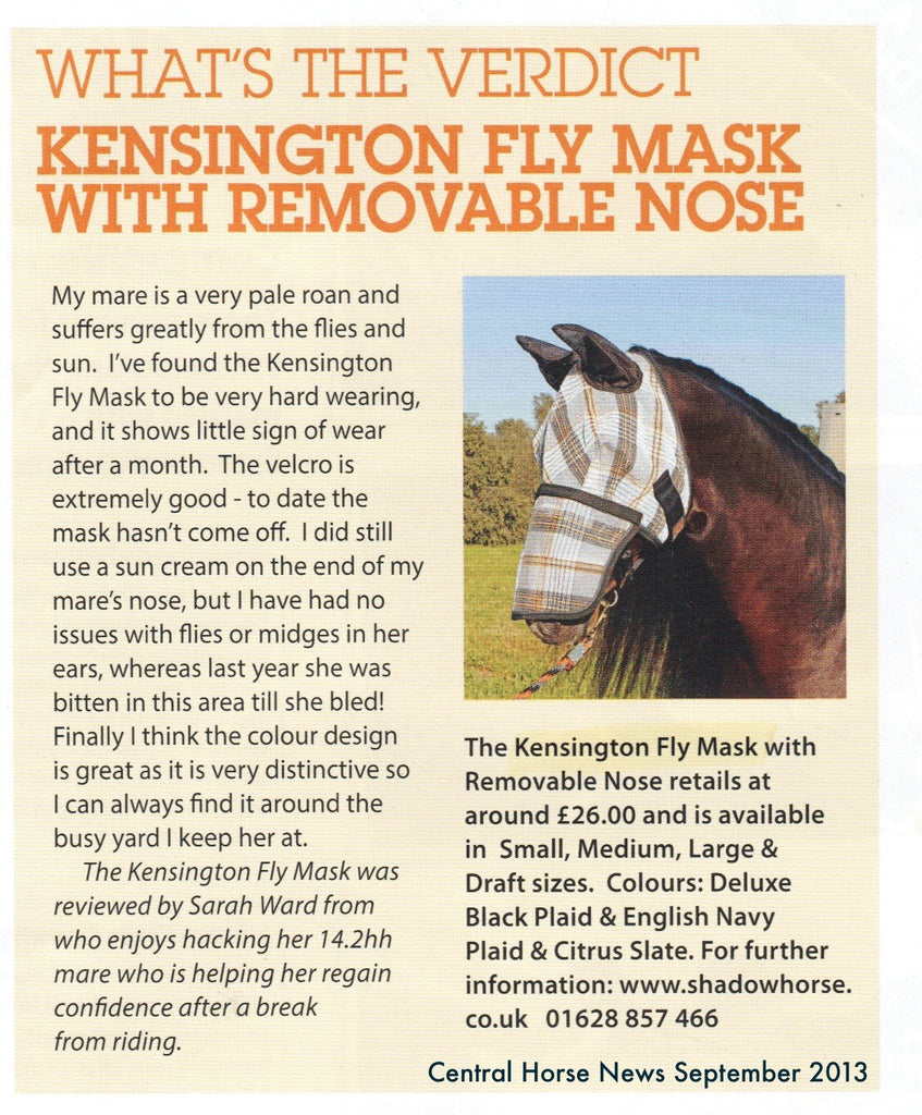 Review: Central Horse News, Sept 2013