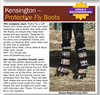 Kensington protective fly boots (pair)